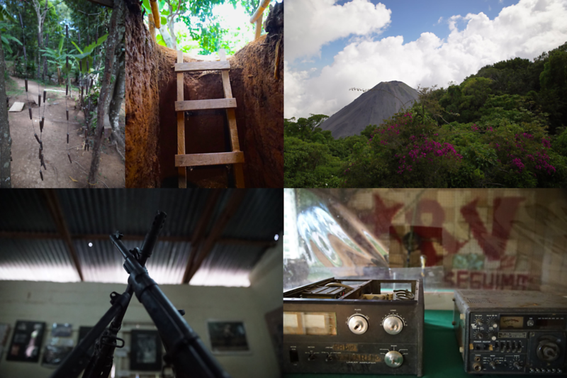 Former Camps, Underground Tunnels, And A Clandestine Radio Station Used By Guerrillas In El Salvador (Photos: Steve Elkins)