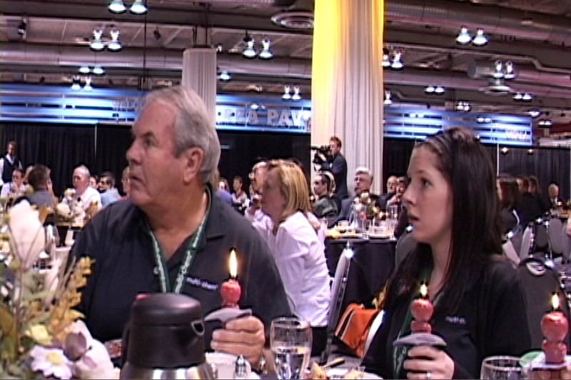 Conference Attendees Lighting Vivoleum Candles