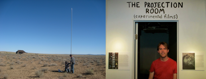 Making Music At The Lightning Field (New Mexico)
