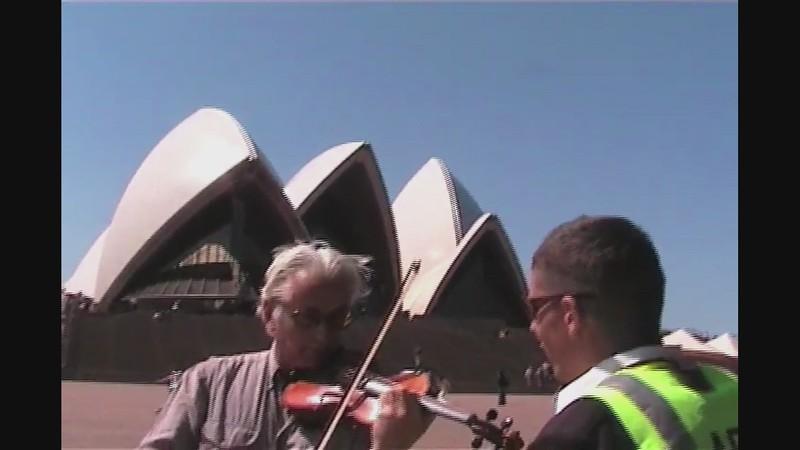 WATCH:  Jon Rose Vs. Sydney Opera House Security