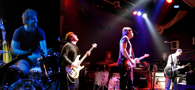 Steve Elkins On Tour In Scotland (Left) And England (Right)