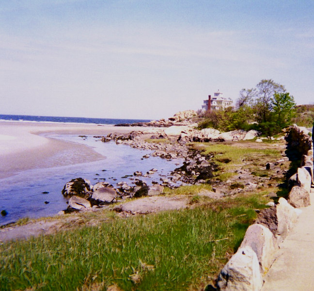 "Roy's conversion story includes a walk on the beach, during which he in a sense ""fell into heaven."" This photo is of a beach near his house, but it's not the same beach."
