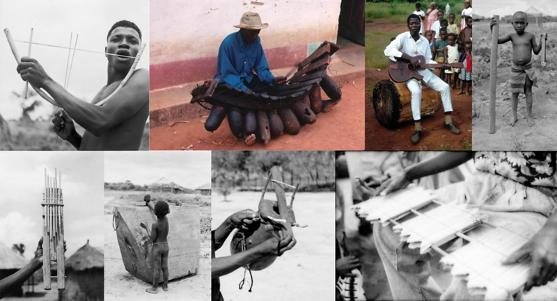 Homemade Instruments Of Interior Angola