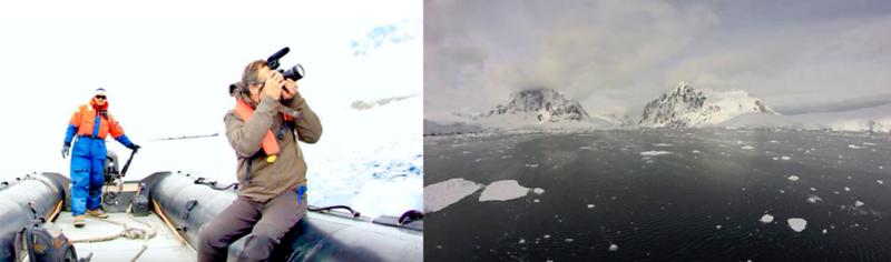 Victor Gama In Antarctica