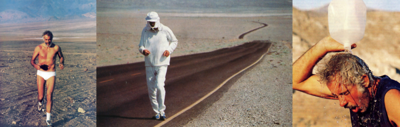 Al Arnold Running Across Death Valley (1970s)