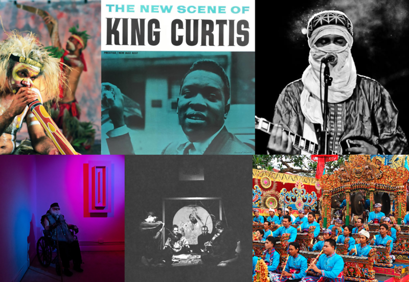 Circular Breathing (Australia), King Curtis , Tuareg Musician (Mali), Javanese Gamelan, The Theatre Of Eternal Music, La Monte Young