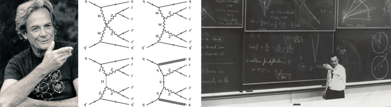 Richard Feynman And His Feynman Diagrams