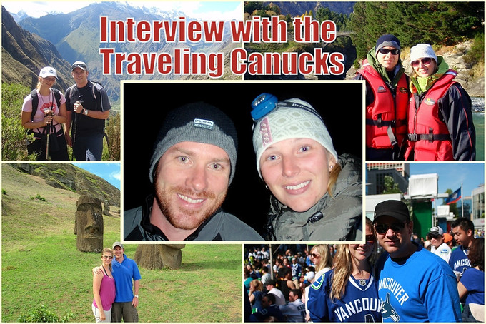 Travel in British Columbia – Interview w/ the Traveling Canucks