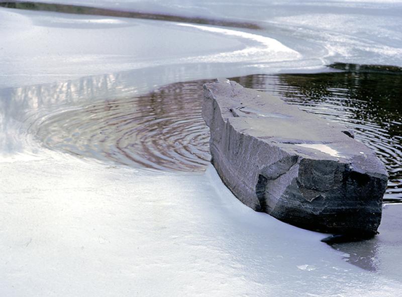 Japanese Garden Winter Pond