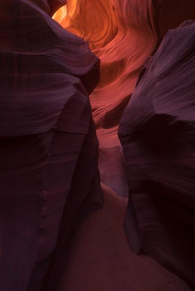 Lower Antelope Canyon, Page, Arizona.