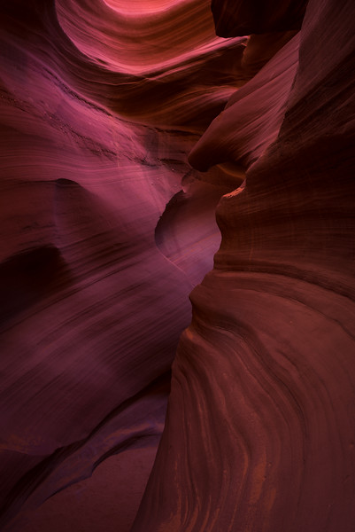 Lower Antelope Canyon, Page, Arizona.