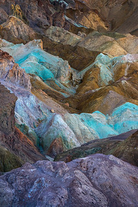 The incredible colors found in Death Valley's soil