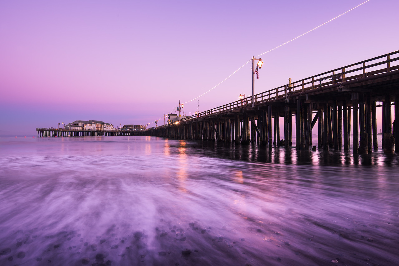 Low Tide At Stearns Wharf