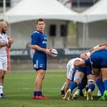 Emirates Airline Summer Series - World Cup Qualifier - USA vs Russia Rugby game at Dick's Sporting Goods Park in Commerce City, Colorado on June 9, 2018.  Final score of the game was the USA - 63 and Russia - 13.  Photo Credit: Al Milligan-KLC fotos