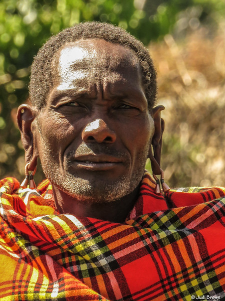 Tribal Masai Leader/Elder