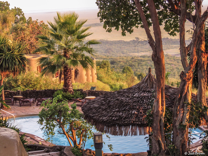 Luxury all the way at this resort lodge
