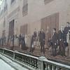 Old Havana murals depict the way it used to look.
