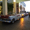 Our surprise rides to our farewell dinner in Havana.