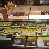 "Government owns the factories where tobacco is processed and the stores that sell the famous ""Cuban"" cigars."