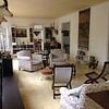 Ernest Hemingway's sitting room.