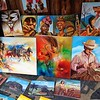 Havana artists display.
