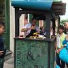 Old Havana corn-on-the-cob vendor