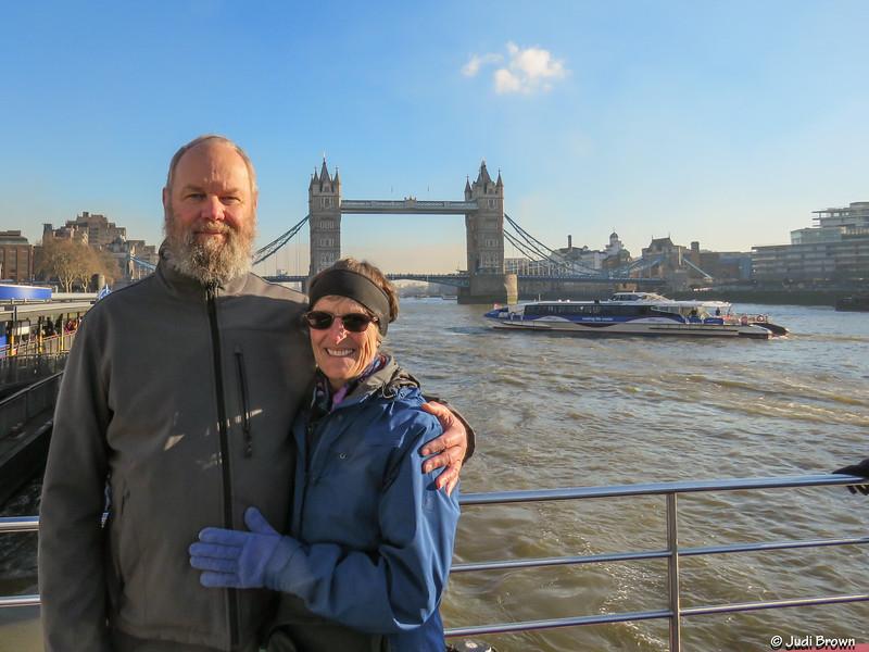 Charlie & Judi on River Thames