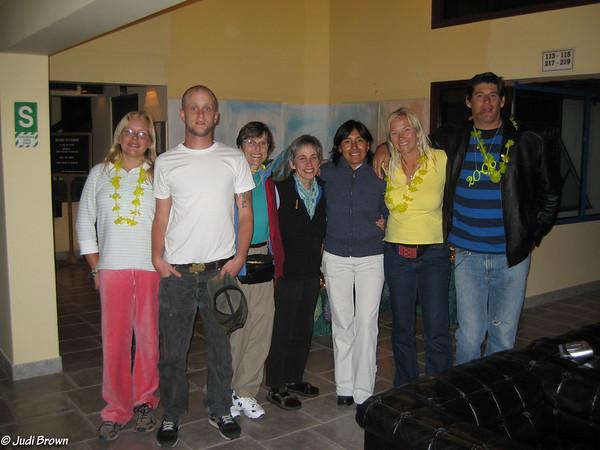 Thomson Family tour members