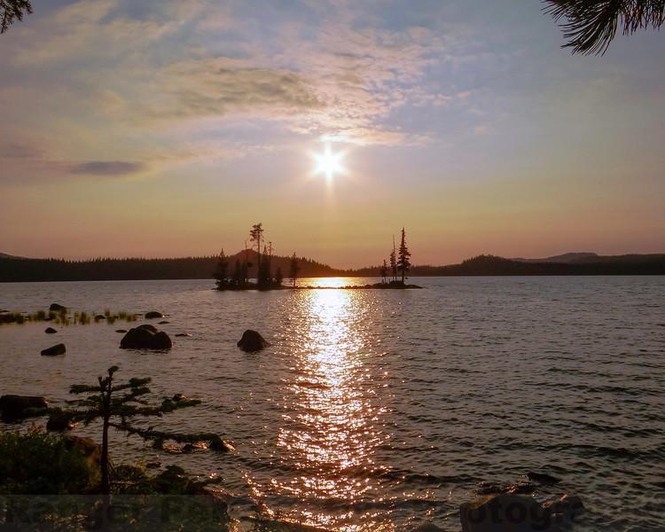 Waldo Lake Twilight