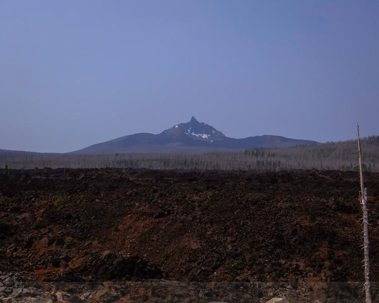 Mount Washington beyond the lava flow