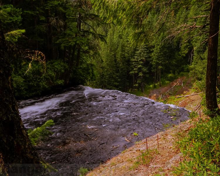 Salt Creek Creek right before the fall