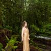 Sherri - Bridal Falls - Gold Dress Standing