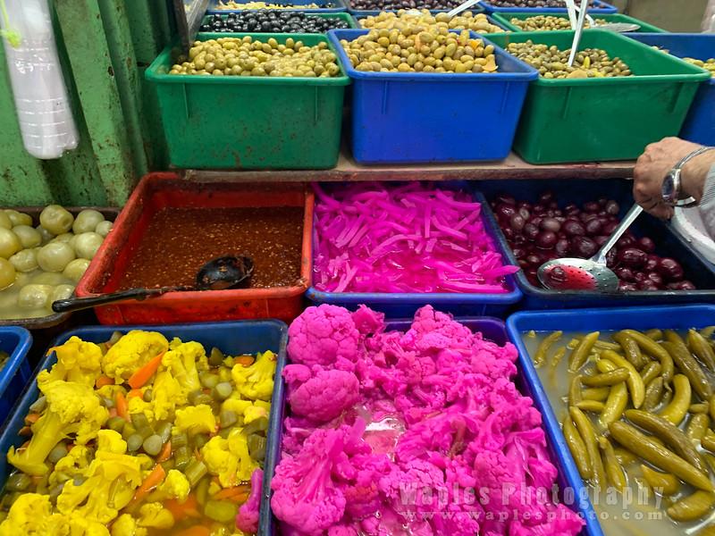 Pickled/Dyed Vegetables