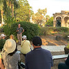 Lecture before visiting Chapel/Grounds