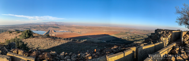 Panorama of Mount Hermon in the Distance