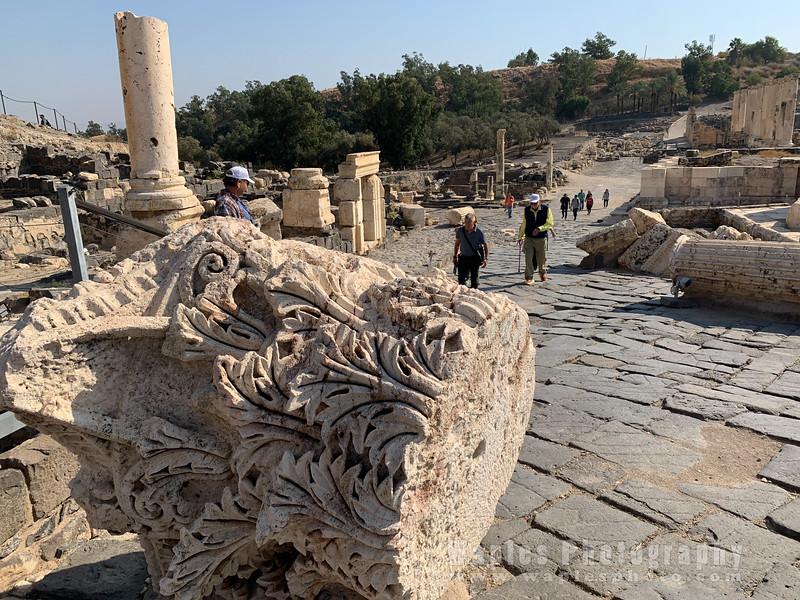Fallen Corinthian Capital