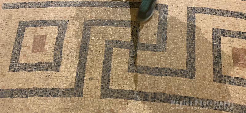 Mosaics at Migdal Synagogue