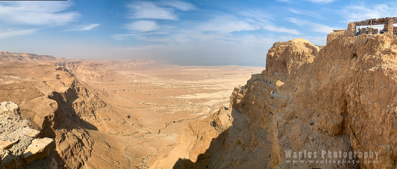 Dead Sea Rift Valley from Masada