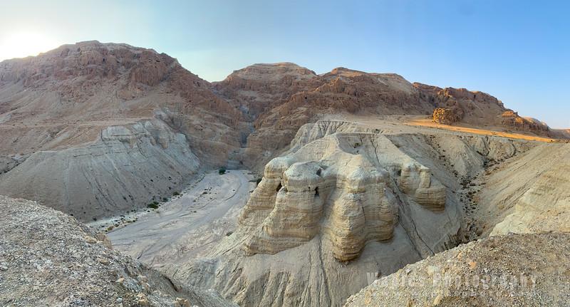 Deep View of Wadi Qumran