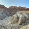 Deep View of Wadi Qumran