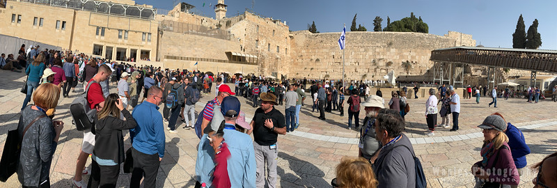 Lecture at the Western Wall Plaza