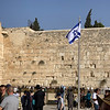 Israeli Flag at the Western Wall