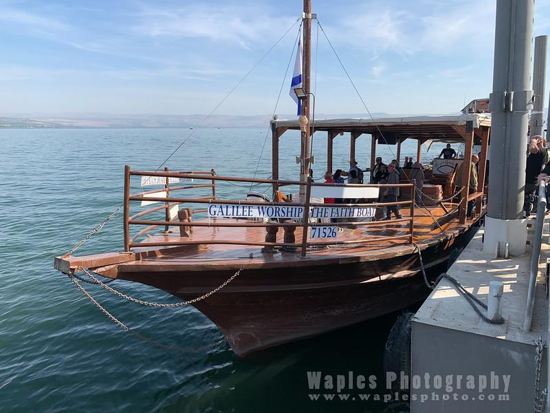 Galilee Worship Boat
