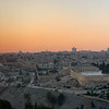 Panorama of Jerusalem near Sunset