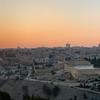 Panorama of Jerusalem near Sunset