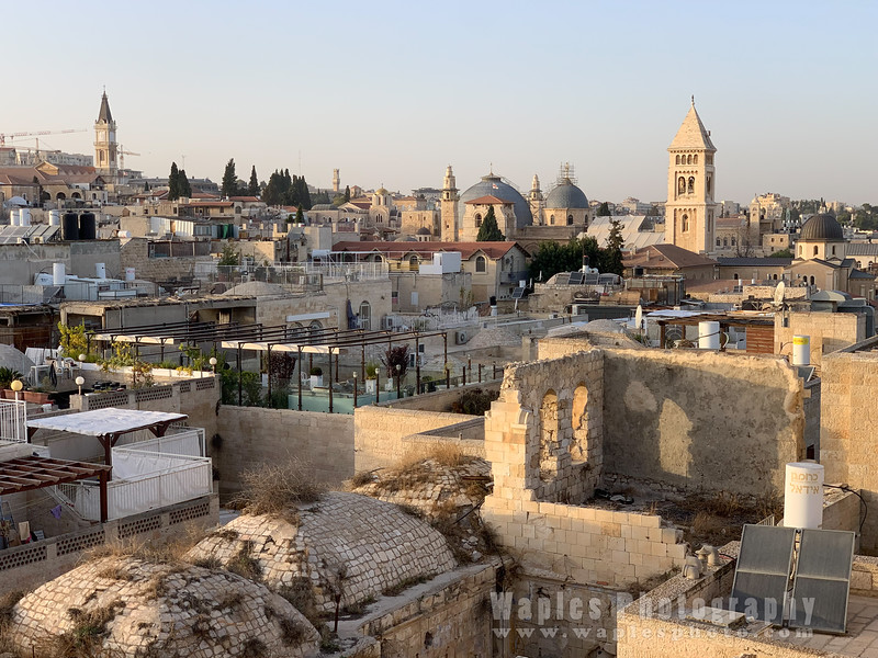 Looking Toward the Church of the Holy Sepulchre