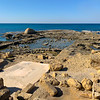 Coastal ruins of Caesarea Maritima