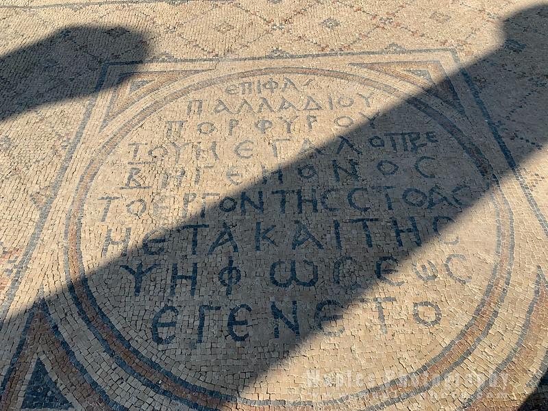 Mosaic on Palladius Street