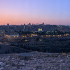 Temple Mount and Jewish Cemetery on Mt. of Olives