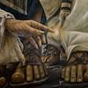 Touching the hem of His Robe